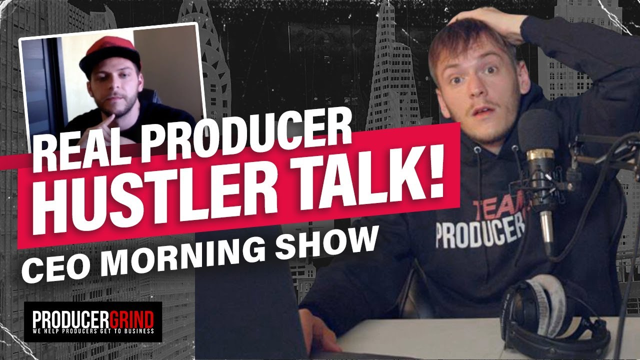 Slept On Strategies For Making $100K Selling Beats with GummyBeatz | CEO Morning Show #3
