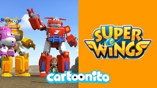 Super Wings | Let's Get Robot Ready! | Cartoonito UK