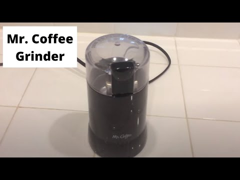 Mr. Coffee - Black Coffee Grinder Review/Overview