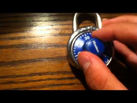 how to find out your master lock combination