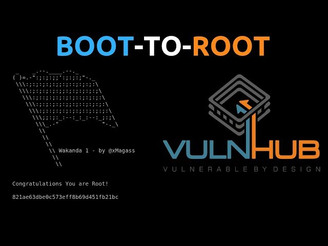 Wakanda 1 CTF Walkthrough - Boot-To-Root