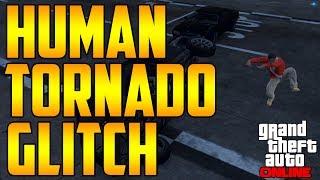 (Patched) Human Tornado Glitch in GTA Online!