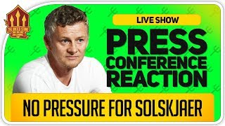 Solskjaer Press Conference Reaction! OLE Talks Transfers