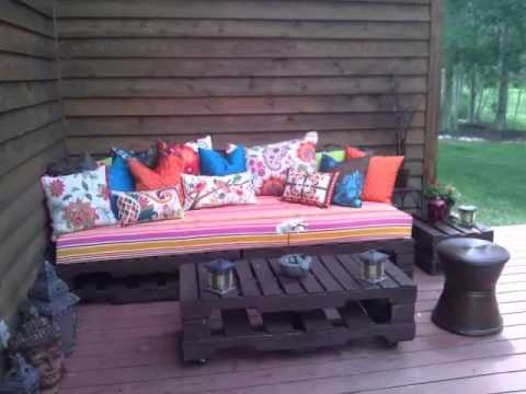 Pallet Furniture Living Room | Diy Ideas Pictures Of Pallet ...