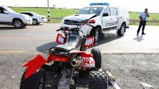 Dirt Bike / ATV police chases compilation clips [ISRAEL VERSION]