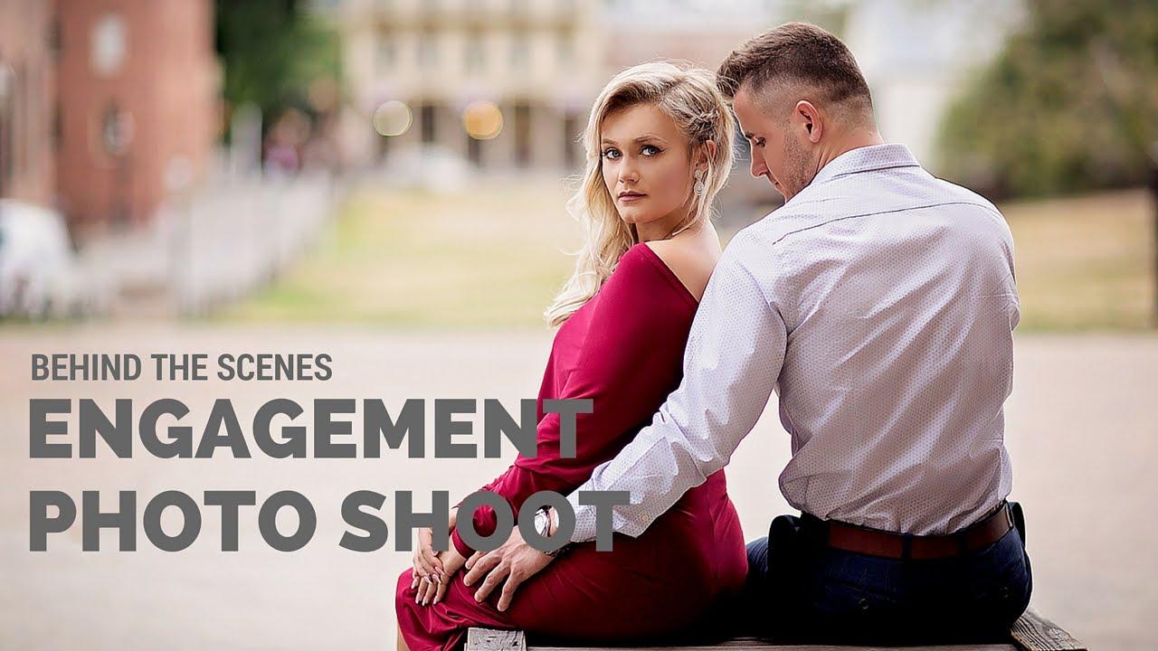 engagement photo shoot poses
