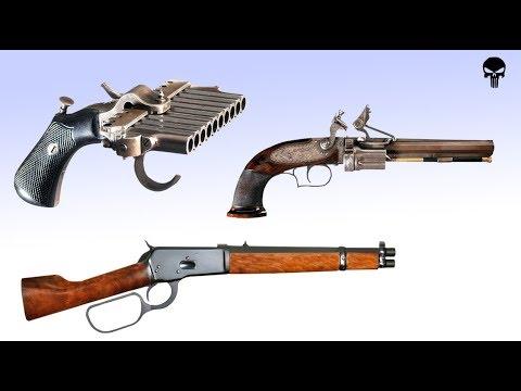 Топ 10 необычного оружия Дикого Запада