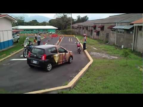 Prueba Practica Moto plantel Cosevi Alajuela A4 10/09/