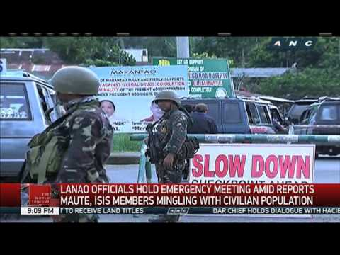 Military offensive continues vs ISIS, Maute group