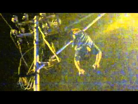 Cable thief electrocuted