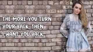 Sabrina Carpenter - Feels Like Loneliness (Lyrics)