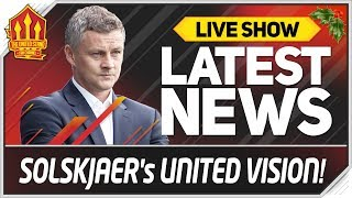 How SOLSKJAER Will Lineup MANCHESTER UNITED! Formation and Tactics
