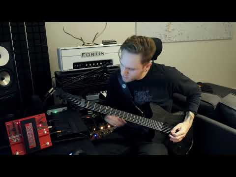Humanity39s Last Breath   quotTidequot Guitar Playthrough by Buster Odeholm