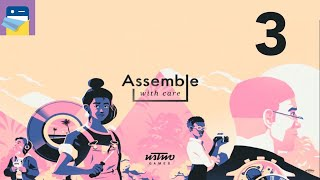 Assemble with Care: Apple Arcade iPad Gameplay Walkthrough Part 3 (by ustwo games)