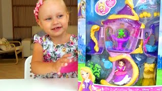 Домик Рапунцель Башня Принцессы Диснея House Rapunzel Tower Disney Princess