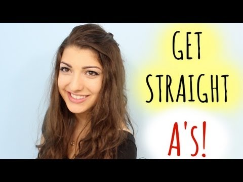 How to Get straight As in school