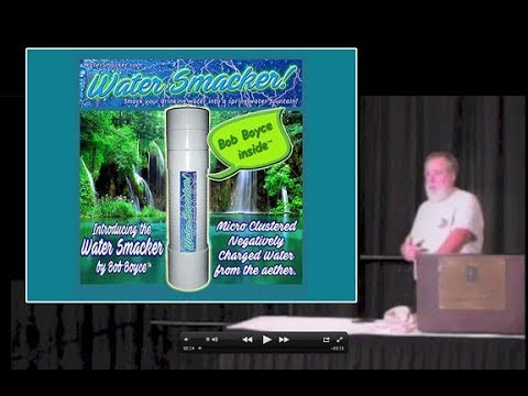 Bob Boyce the Inventor talks about the Water Smacker •Tesla Tech Conference 2016 /2017