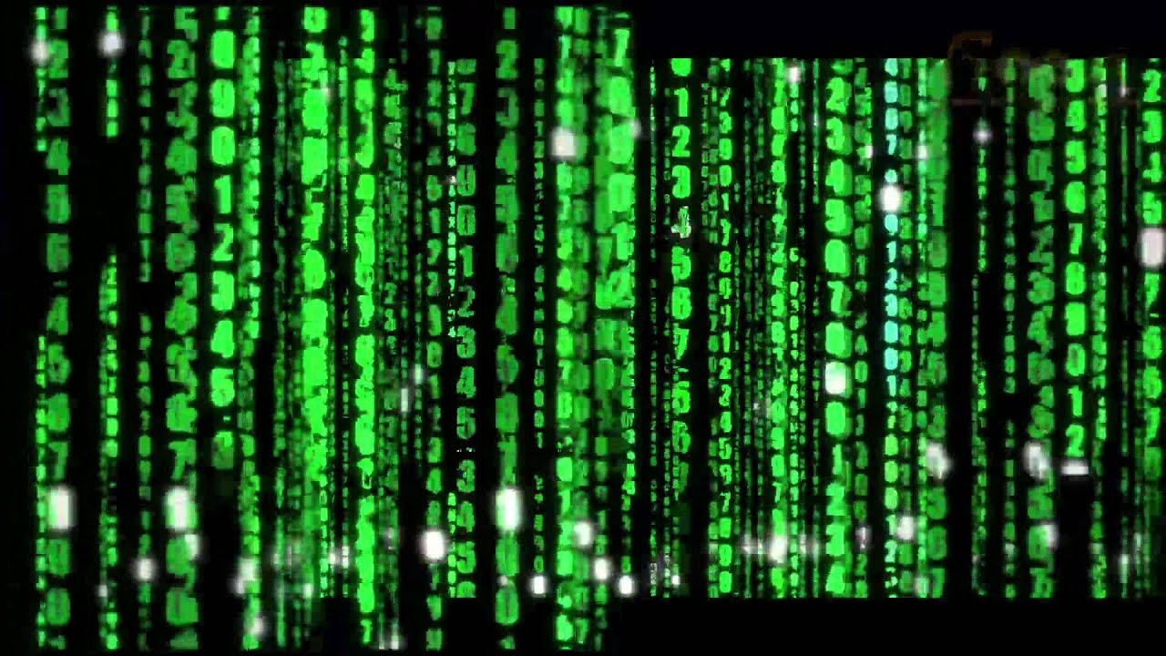 matrix text motion background - youtube
