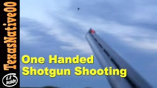One Handed Shotgun Shooting With iPhone - Dove Shot on the Wing