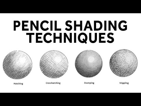 How to shade with pencil pencil shading techniques drawing exercises basic drawing lessons