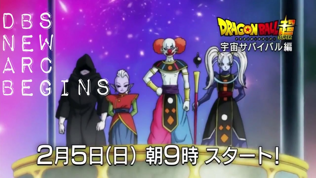 Extended Trailer For Dragon Ball Super Universal Survival Arc
