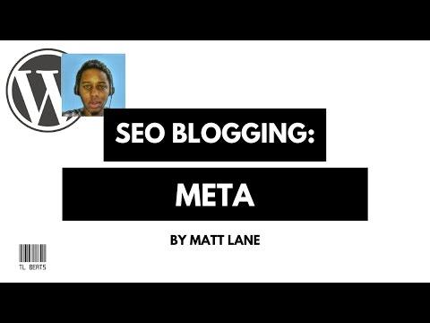 How to Wordpress META Optimize - SEO Blogging 2017 - Part 3