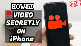How to SECRETLY Record Videos on your iPhone with Screen OFF ? ( iPhone Hacks ) screenshot 5