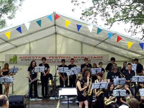Leeds Youth Jazz Rock Orchestra Kirkstall july 2010