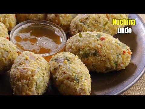 నుచ్చినుండే |Healthy NUCCHINUNDE recipe by vismai food| Nuchina unde recipe in Telugu| Habe vada