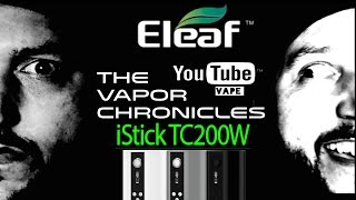 Eleaf iStick 200W TC Triple 18650 Box Mod On TVC(To purchase the item from this video click the link below. http://www.vapordna.com/Eleaf-iStick-200W-TC-Triple-18650-Box-Mod-p/ist200.htm&Click=34243 ..., 2016-05-07T04:12:58.000Z)