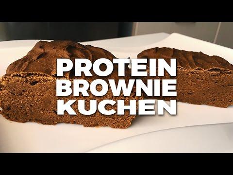 Protein Schoko Kokos Browniekuchen Schnell Und Einfach Youtube