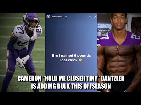 Minnesota Vikings CB Cameron Dantzler (aka The Needle) Adding Weight This offseason 💪💪💪
