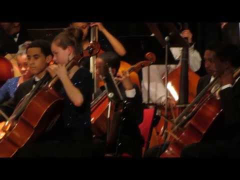 ERHS Full Orchestra Pirates of the Caribbean: At World's End May 2013