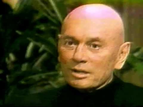 Yul Brynner post mortem Cancer TV commercial anti-smoking (Westworld or The King and I)