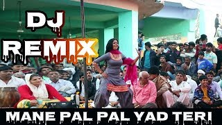 Mane Pal Pal Yad Teri Dj Remix Song | New Panjabi Song Dj Remix | Panjabi Dj Remix Song 2019
