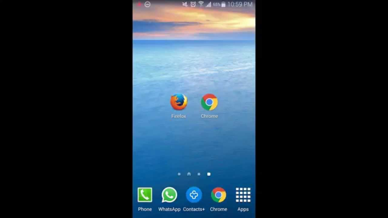 Changing the search engine in Chrome and Firefox on your Android device