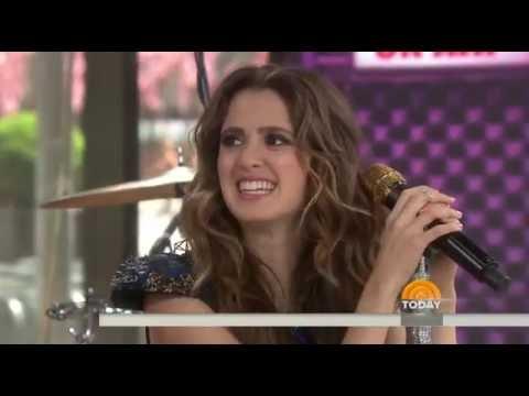 Laura Marano - Boombox   TODAY Show (Live)