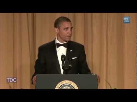 Obama Jokes About Eating Dog:
