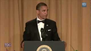 """Obama Jokes About Eating Dog: """"a Pitbull Is Delicious"""""""