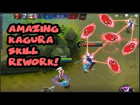 KAGURA AMAZING SKILL REWORK | IS SHE OP AGAIN?!? Mobile Legends
