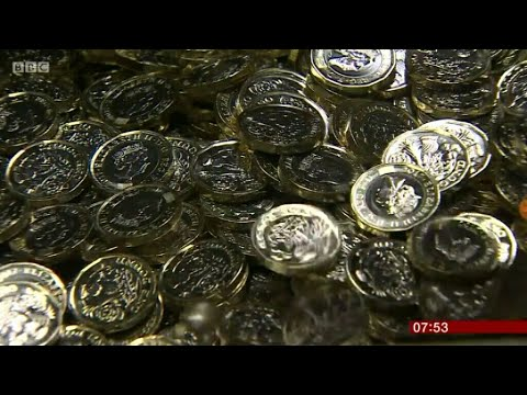 BBC At The Royal Mint - Round Pound Being Melted Down 😟