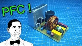 Коректор коэфициента мощности. Своими руками. (PFC) или (ККМ). PCBWay