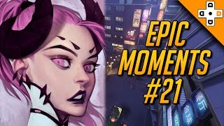 Overwatch Epic Moments #21 -  Highlights Montage
