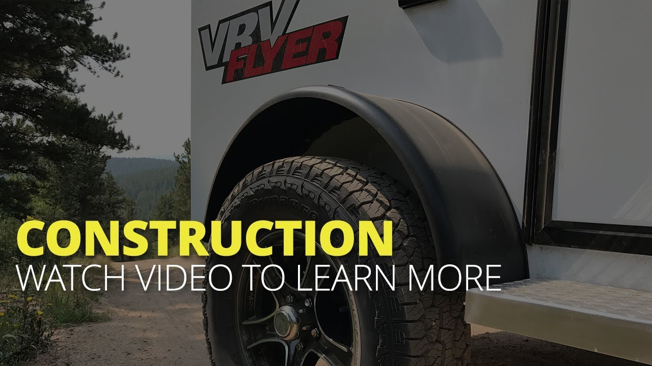 VRV Teardrop Trailers | Off-Road Ready | Aluminum Frame Campers