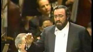 Luciano Pavarotti sings Dein ist mein ganzes Herz (Italian)