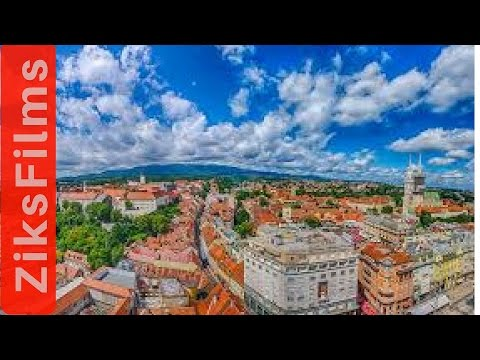 Zagreb, the Beautiful Capital of Croatia [HD]