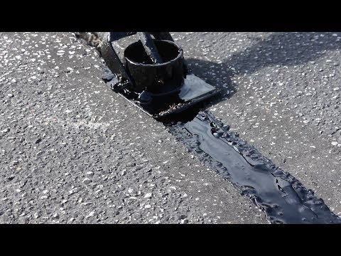 Tow Behind Crack Filler (Fixing GIANT Craters)