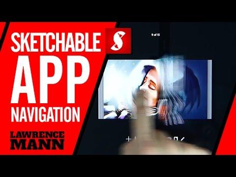 Sketchable App: Navigation