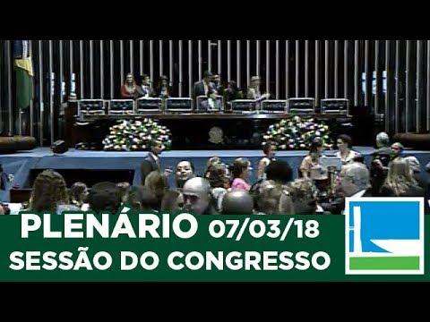 Sessão Solene do Congresso Nacional - Entrega do Diploma Bertha Lutz