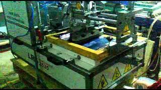 Lusso / BANMAKSER Co.LTD. lrs 2535 semi auto screen printing machinery 2